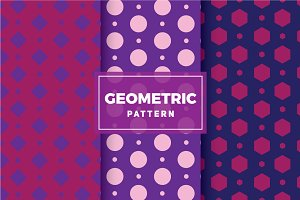 Geometric Vector Patterns #148