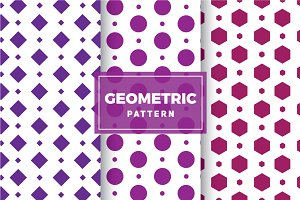 Geometric Vector Patterns #147