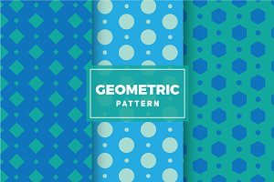 Geometric Vector Patterns #146