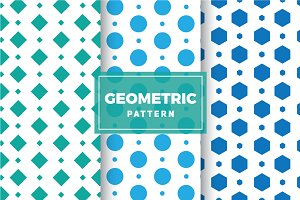 Geometric Vector Patterns #145