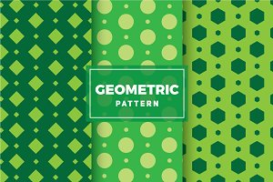 Geometric Vector Patterns #144