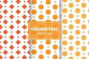 Geometric Vector Patterns #141