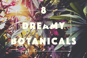 SALE! $2 Dreamy Tropical Botanicals