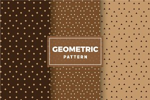 Geometric Vector Patterns #160