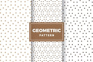Geometric Vector Patterns #159