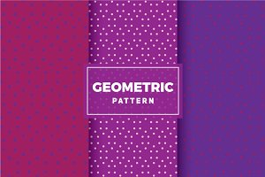 Geometric Vector Patterns #158