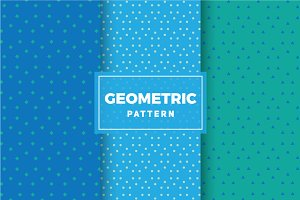 Geometric Vector Patterns #156