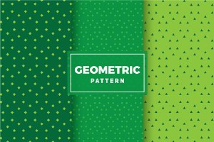 Geometric Vector Patterns #154