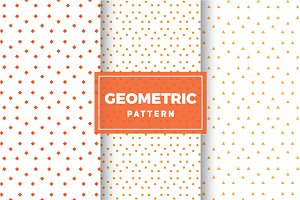 Geometric Vector Patterns #151