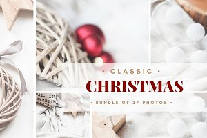 CLASSIC CHRISTMAS MOCKUP & PHOTOS