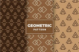 Geometric Vector Patterns #170