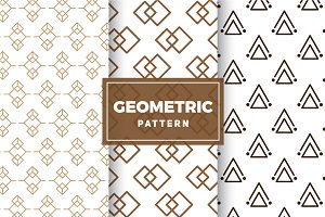 Geometric Vector Patterns #169