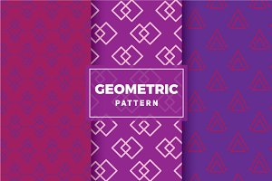 Geometric Vector Patterns #168