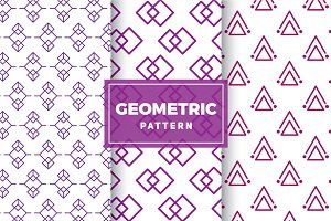 Geometric Vector Patterns #167