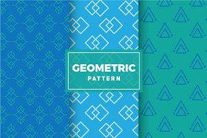 Geometric Vector Patterns #166