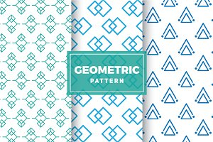 Geometric Vector Patterns #165
