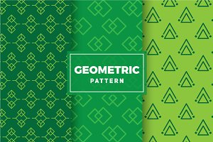 Geometric Vector Patterns #164