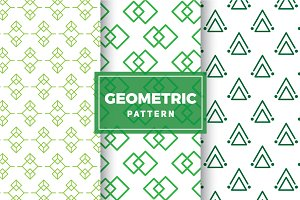 Geometric Vector Patterns #163
