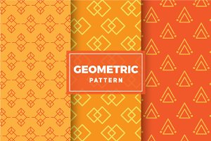 Geometric Vector Patterns #162