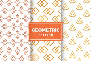 Geometric Vector Patterns #161