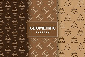 Geometric Vector Patterns #180
