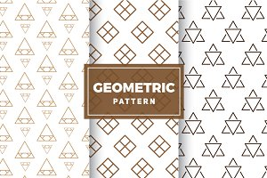 Geometric Vector Patterns #179