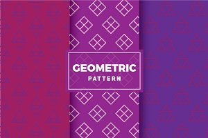 Geometric Vector Patterns #178