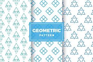 Geometric Vector Patterns #175