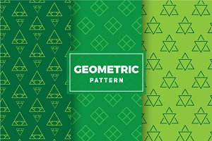 Geometric Vector Patterns #174