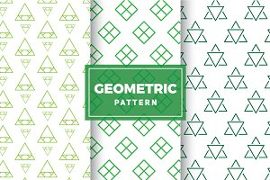 Geometric Vector Patterns #173
