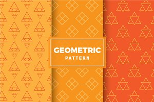 Geometric Vector Patterns #172