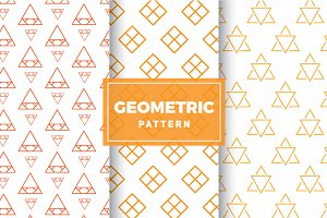 Geometric Vector Patterns #171