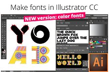 Fontself: Make fonts in Illustrator
