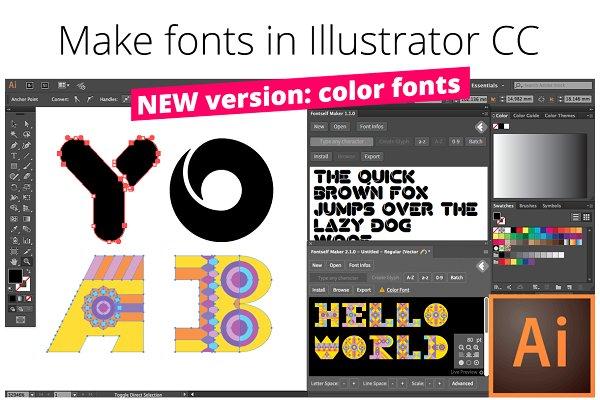 Fontself: Make fonts in Illustrator