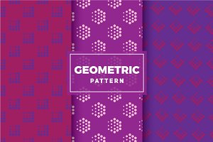 Geometric Vector Patterns #188