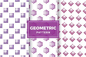 Geometric Vector Patterns #187
