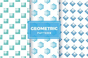 Geometric Vector Patterns #185