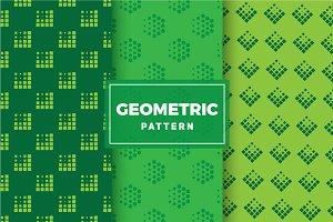 Geometric Vector Patterns #184