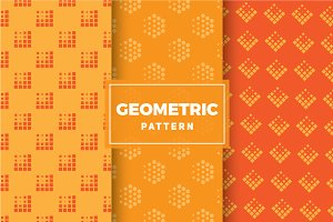 Geometric Vector Patterns #182
