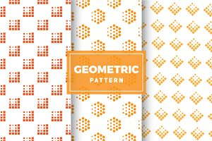 Geometric Vector Patterns #181