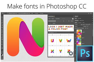 Fontself: Make fonts in Photoshop