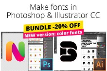 Fontself Maker Bundle for PS & AI