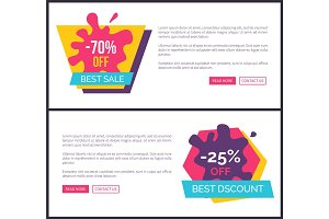 -70% Off Best Sale, Promotional Labels with Blots