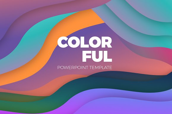 colorful powerpoint template presentation templates creative