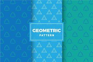 Geometric Vector Patterns #196
