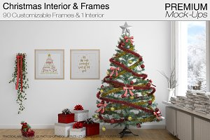Christmas Interior & Frames Pack