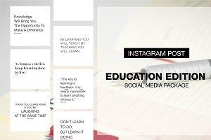 Education Edition - Social Media