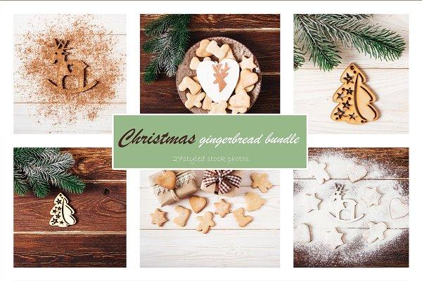 20% Christmas gingerbread bundle