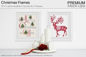 Christmas Frames Pack