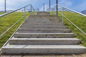 Steps.